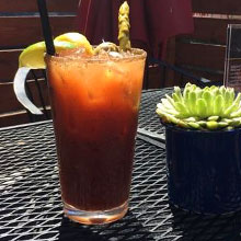 Bloody Mary on the Patio